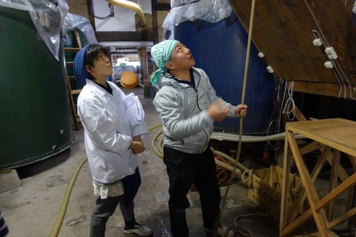 Yuri Hayashi and Yoshimasa Sakai