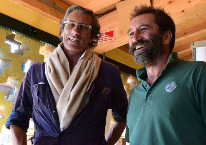 Luca (left) and Nicolo (right) De Ferrari