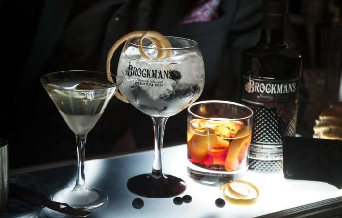 Brockmans gin (picture courtesy Brockmans)