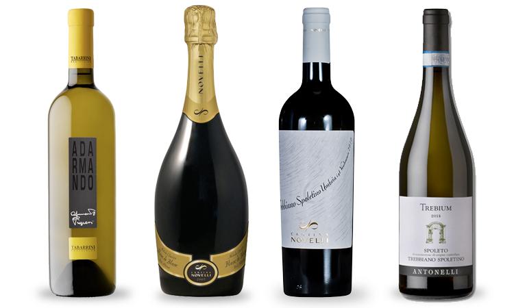 trebbiano-spoletino-bottles