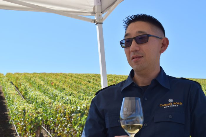 Winemaker Kris Kato