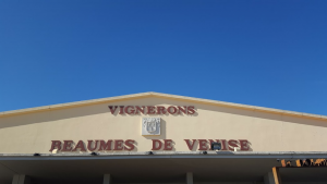 The cave cooperative of the Vignerons of Beaumes de Venise