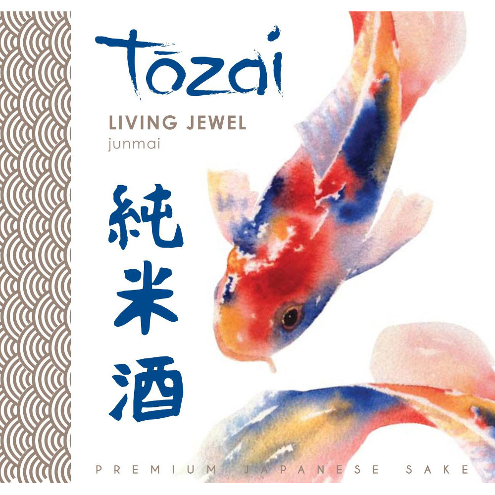 Tōzai ?Living Jewel? Sake